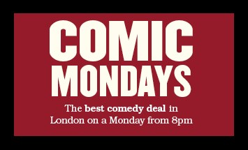 Comic Mondays in the Theatre Workshop Bar