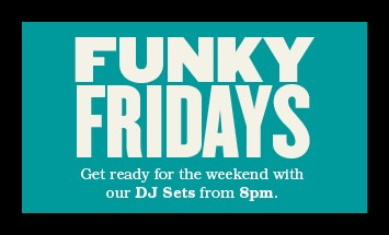 Funky Fridays at the Theatre Workshop Bar