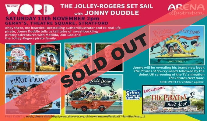 The Jolley-Rogers Set Sail with Jonny Duddle