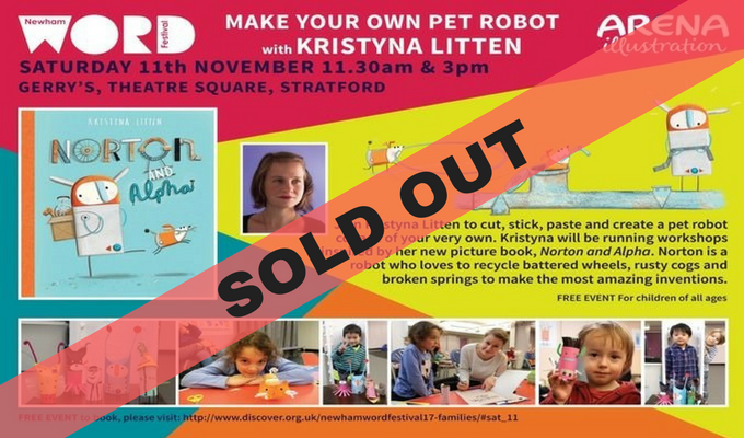 Make your own Pet Robot with Kristyna Litten