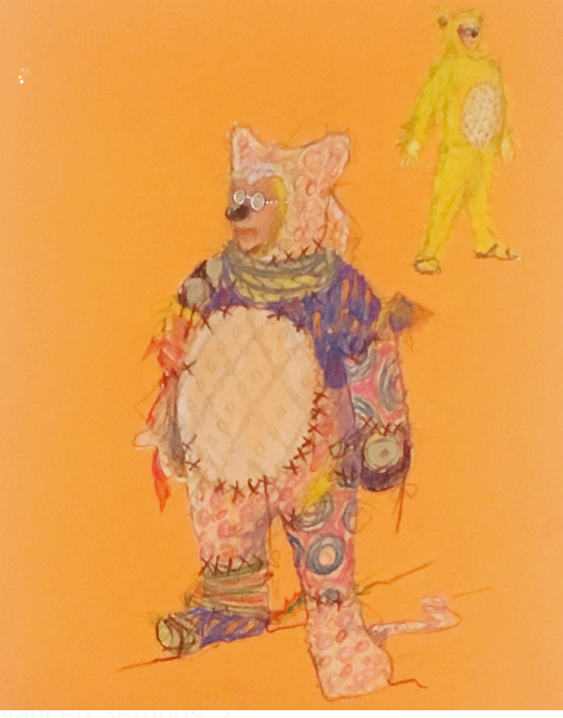 Baby Bear costume design