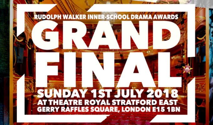 Rudolph Walker's Inter-School Drama Awards (RWiSDA) 2018